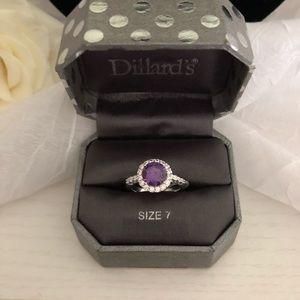 Dillard's Brand Amethyst Inspired Ring